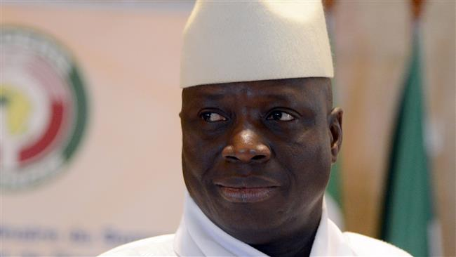 President Yahya Jammeh of Gambia (Photo by AFP)