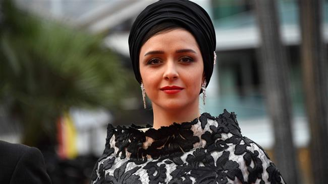 Iranian actress Taraneh Alidoosti poses as she arrives for the closing ceremony of the 69th Cannes Film Festival in Cannes, France, May 22, 2016. (Photo by AFP)