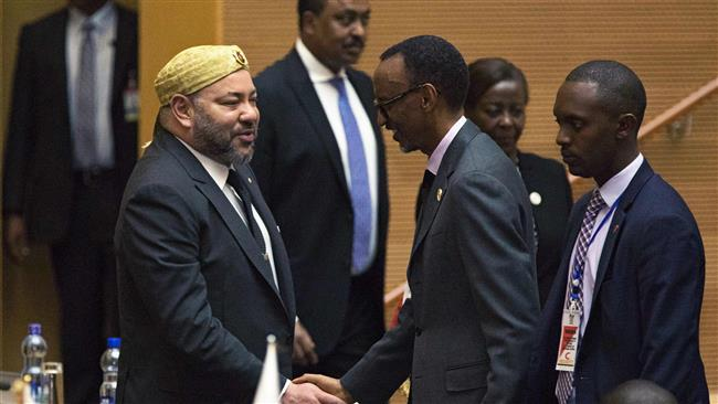 The African Union agreed on January 30 to readmit Morocco 33 years after it quit the bloc, following a difficult debate over the status of Western Sahara, according to presidents attending the summit. (Photo by AFP)