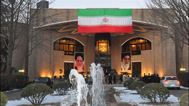 A view of Iran's Embassy in Beijing (file photo)