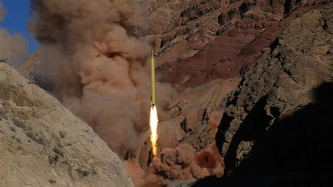 In this March 9, 2016 photo obtained from the Iranian Fars News Agency, a Qadr H long-range surface-to-surface missile is fired by Iranian Armed Forces.