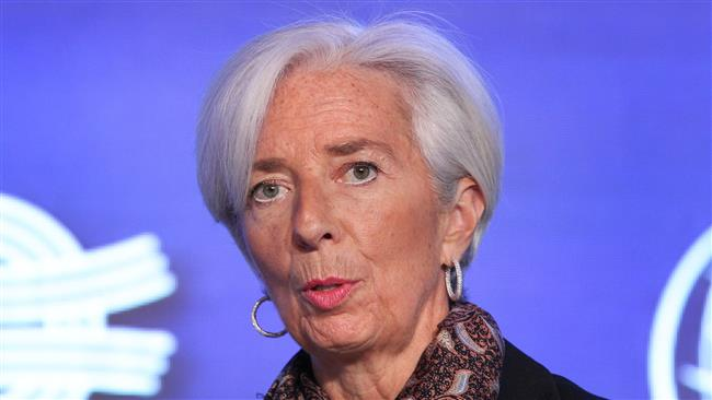 """Christine Lagarde, Managing Director of the International Monetary Fund (IMF), attends the 2017 Institute of International Finance (IIF) G20 Conference titled """"The G20 Agenda under the German Presidency"""" in Frankfurt, western Germany, on March 16, 2017. (Photo by AFP)"""