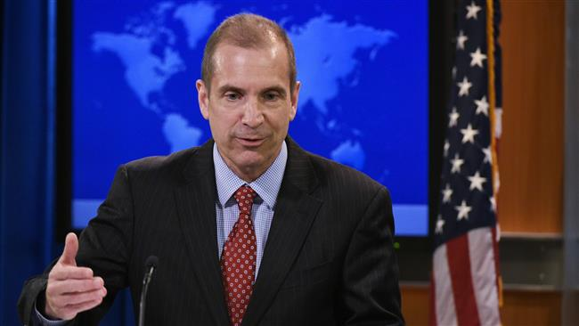 US State Department acting spokesman Mark Toner speaks during a briefing on March 7, 2017 in Washington, DC. (AFP photo)