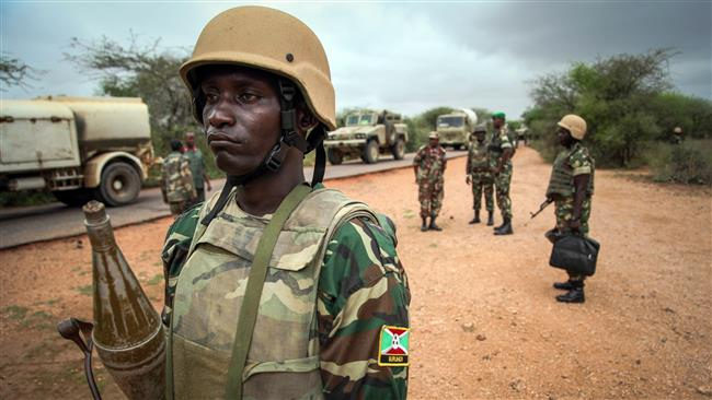 amisom troops