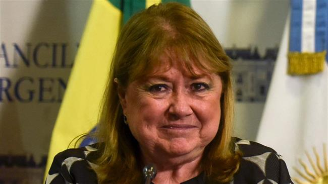 Argentina's Foreign Minister Susana Malcorra (photo by AFP)