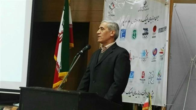Hojjatollah Dehkhodaei, the new president of the Polo Federation of the Islamic Republic of Iran (file photo)