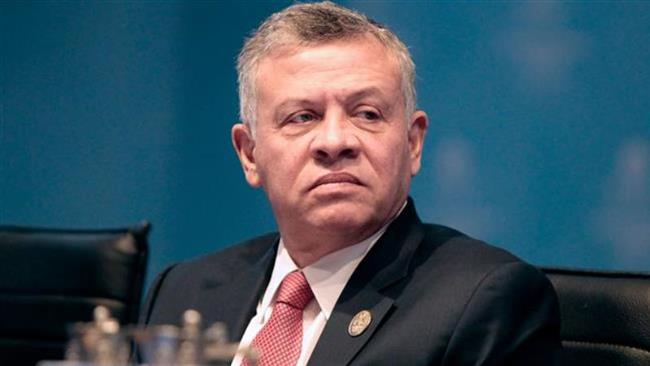 This handout picture taken on December 13, 2017 shows Jordan's King Abdullah II attending an extraordinary summit of the Organization of Islamic Cooperation (OIC) in Istanbul. (Photo by AFP)