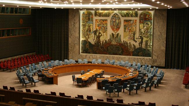 Th room of the United Nations Security Council is seen in the file photo.