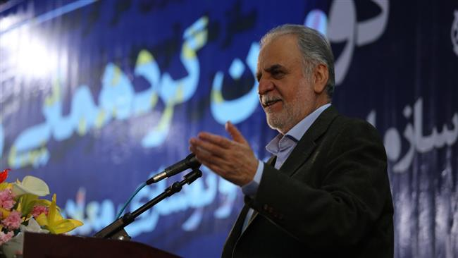 Iran's Minister of Economy and Financial Affairs Masoud Karbasian.