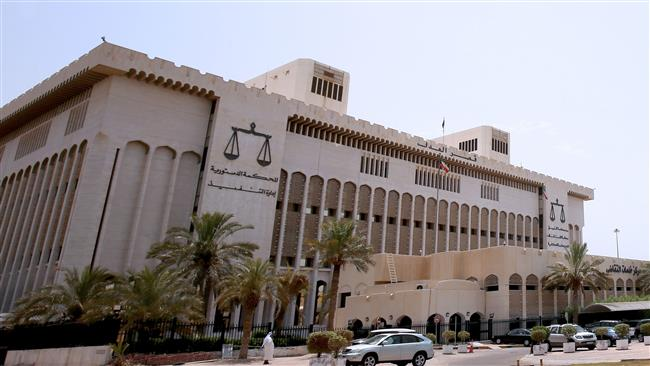 The photo taken on June 18, 2017 shows a general view of the Palace of Justice in Kuwait City, which is home to Kuwait's Supreme Court. (AFP photo)