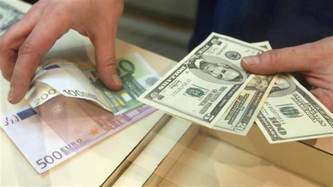 Dollar-to-euro exchange rate stood at over 1.2 in Italy.