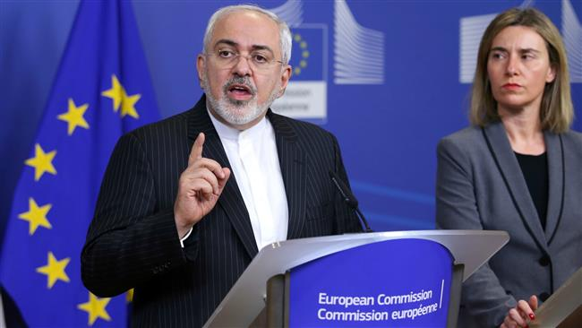 A file photo of Iranian Foreign Minister Mohammad Javad Zarif