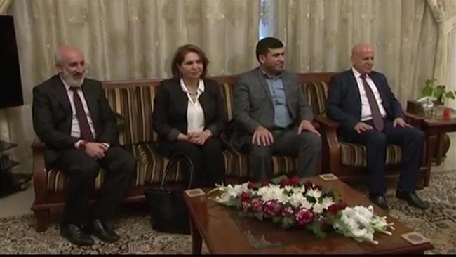A delegation from Iraq's Kurdistan region has concluded its visit to the Iraqi capital.