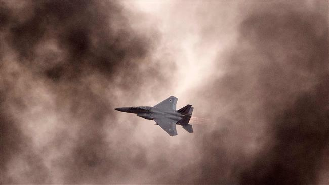 An AFP file photo of an Israeli F-15 fighter jet