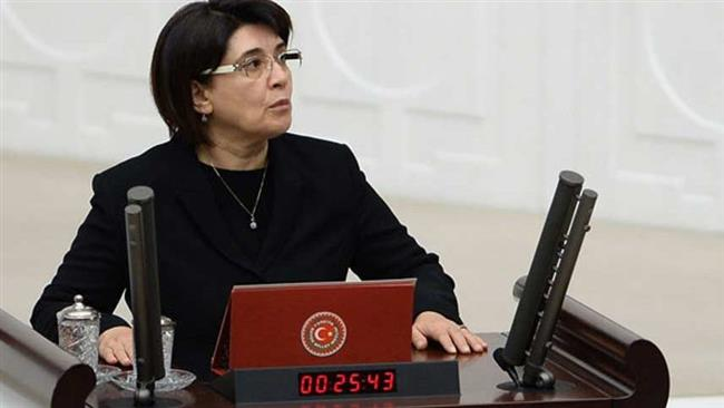 Leyla Zana, a lawmaker from Turkey's pro-Kurdish opposition Peoples' Democratic Party (HDP) (file photo)