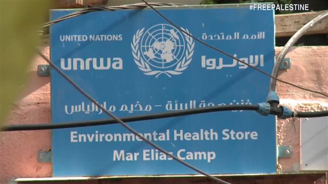 The United Nations Relief agency for Palestinian refugees