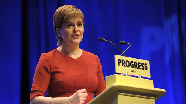 Scottish leader Nicola Sturgeon