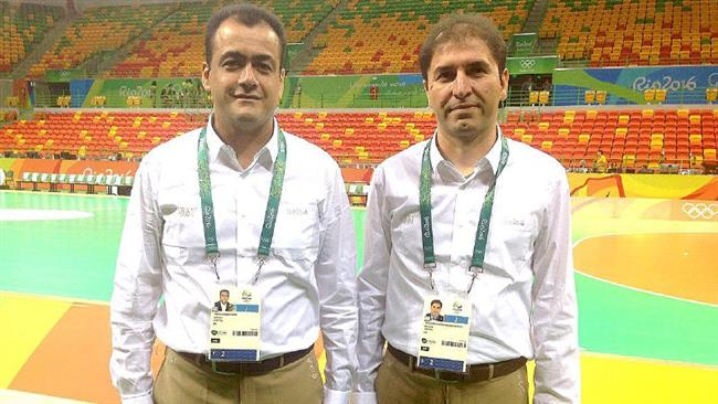Iran-handball-referees
