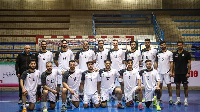 Iran-handball-team
